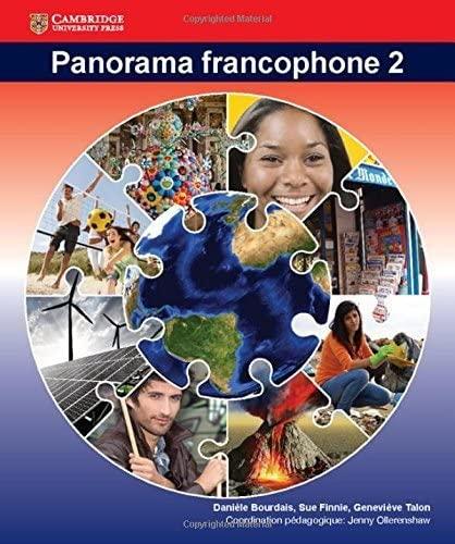 Panorama Francophone Student Book 2 (Paperback): Daniele Bourdais