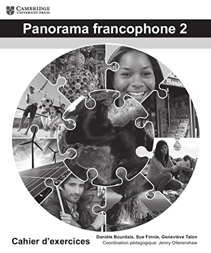 Panorama francophone 2 Cahier d'exercises - 5 book pack (Hardcover): Daniele Bourdais