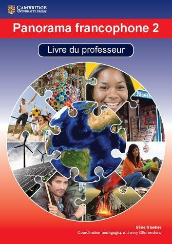 Panorama Francophone 2 Livre Du Professeur With Cd-rom (Book & Merchandise): Irene Hawkes