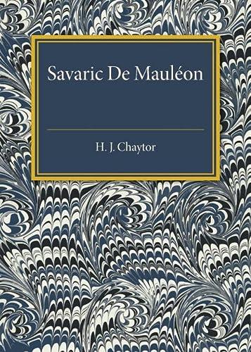 9781107585560: Savaric De Mauleon