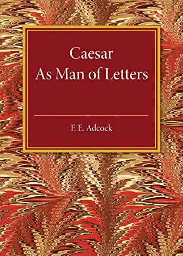9781107586109: Caesar As Man of Letters