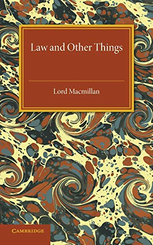 Law and Other Things: Macmillan, Lord
