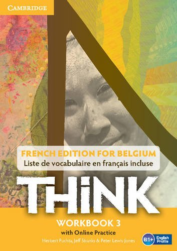 9781107588578: Think Level 3 Workbook with Online Practice (for Belgium)