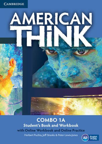 American Think Level 1 Combo a with Online Workbook and Online Practice: Puchta, Herbert