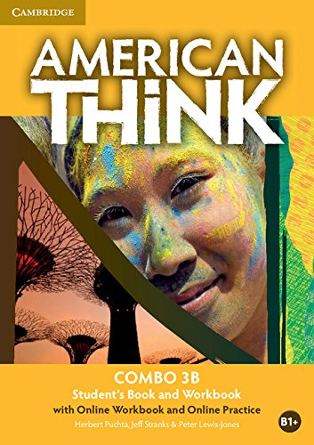 American Think Level 3 Combo B with Online Workbook and Online Practice: Puchta, Herbert