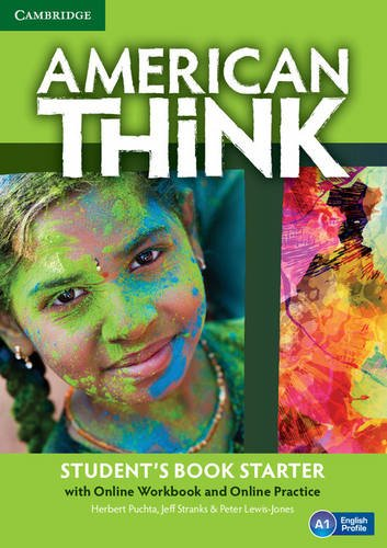 American Think Starter Student's Book with Online Workbook and Online Practice (Paperback): ...
