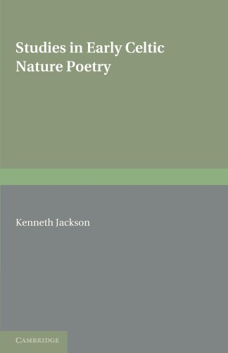 9781107600188: Studies in Early Celtic Nature Poetry