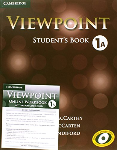 Viewpoint Level 1 Student's Book a: McCarthy, Michael