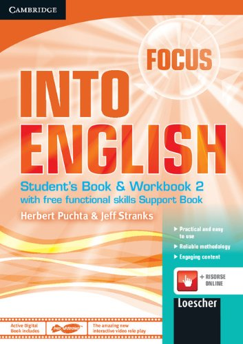 9781107601925: Focus-Into English Level 2 Student's Book and Workbook with Audio CD, Active Digital Book and Support Book Italian Edition