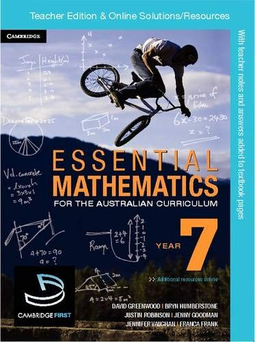 Essential Mathematics for the Australian Curriculum Year 7 Teacher Edition (Paperback): Kelly ...