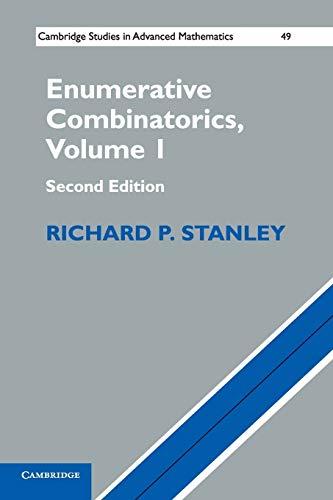 9781107602625: Enumerative Combinatorics: Volume 1