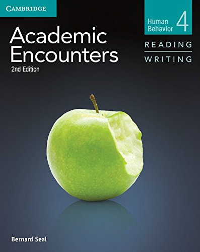 9781107602977: Academic Encounters 2nd 4 Student's Book Reading and Writing