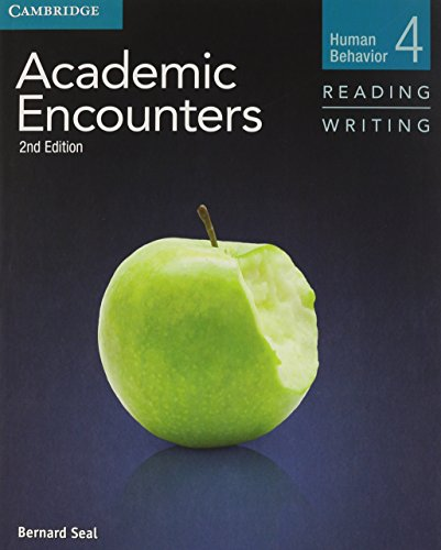 9781107603035: Academic Encounters Level 4 2 Book Set (Student's Book Reading and Writing and Student's Book Listening and Speaking with DVD): Human Behavior