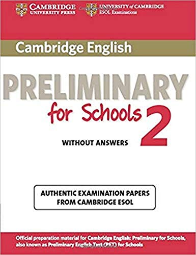9781107603097: Cambridge English. Preliminary for schools. Student's book. Without answers. Per le Scuole superiori. Con espansione online: Cambridge English ... Book without Answers (PET Practice Tests)