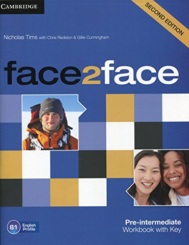 9781107603530: face2face Pre-intermediate Workbook with Key [Lingua inglese]