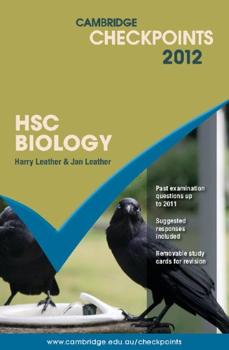 Cambridge Checkpoints HSC Biology 2012: Harry Leather