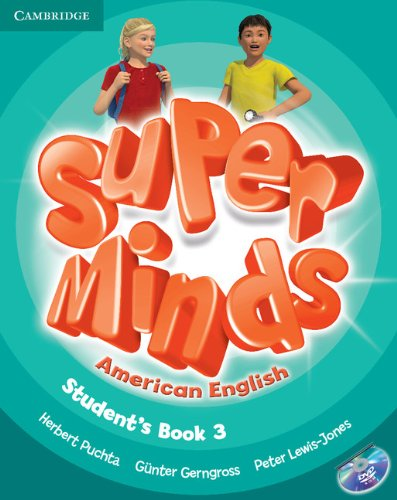 9781107604247: Super Minds American English Level 3 Student's Book with DVD-ROM