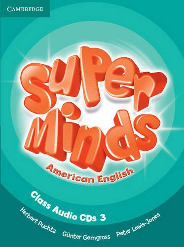 9781107604261: Super Minds American English Level 3 Class Audio CDs (3) - 9781107604261