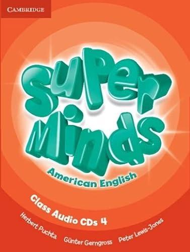 9781107604346: Super Minds American English Level 4 Class Audio CDs (4)