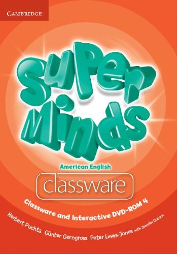 9781107604377: Super Minds American English Level 4 Classware and Interactive DVD-ROM - 9781107604377