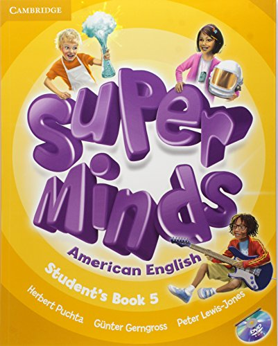 9781107604407: Super Minds American English Level 5 Student's Book with DVD-ROM - 9781107604407