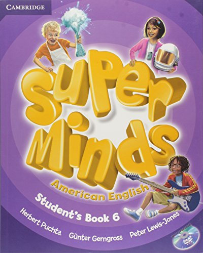 9781107604469: Super Minds American English Level 6 Student's Book with DVD-ROM