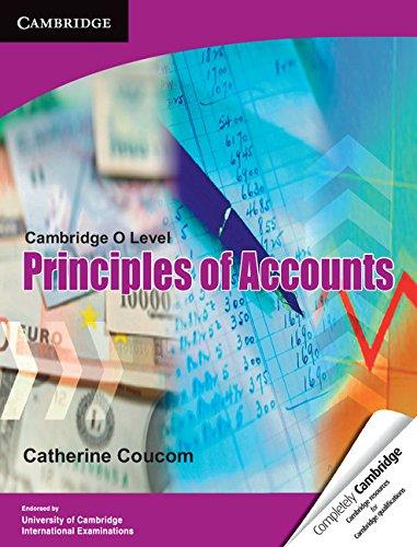 9781107604780: Cambridge O Level: Principles of Accounts (Cambridge International Examinations)
