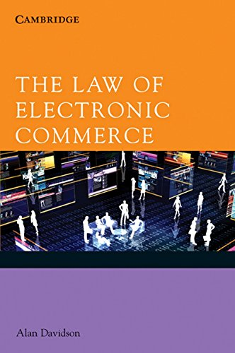 The Law of Electronic Commerce: Alan Davidson