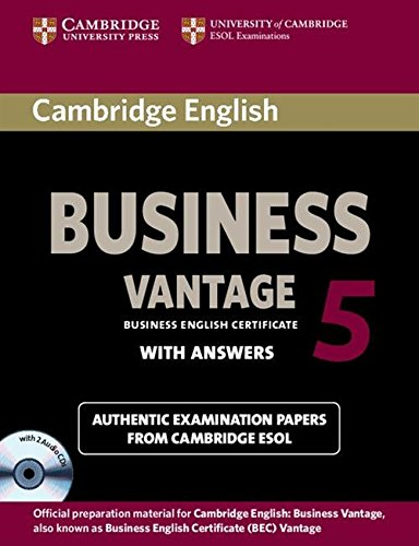 9781107606937: Cambridge English Business 5 Vantage Self-study Pack (Student's Book with Answers and Audio CDs (2))