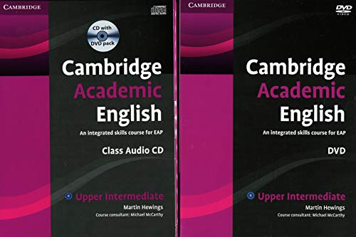 9781107607149: Cambridge Academic English B2 Upper Intermediate Class Audio CD and DVD Pack