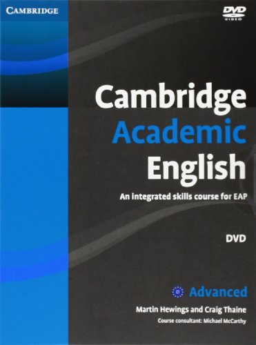 Cambridge Academic English C1 Advanced Class Audio CD and DVD Pack: An Integrated Skills Course for...