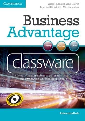 Business Advantage Intermediate Classware DVD-ROM (Hardcover): Almut Koester