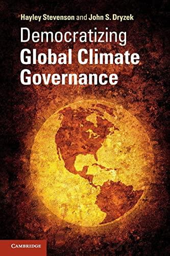 9781107608535: Democratizing Global Climate Governance