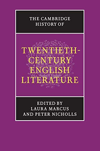 9781107609488: The Cambridge History of Twentieth-Century English Literature (The New Cambridge History of English Literature)