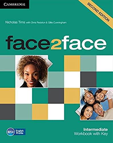 9781107609549: face2face Intermediate Workbook with Key.