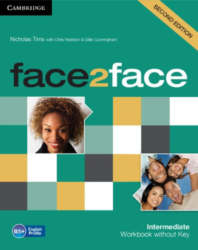 9781107609556: face2face Intermediate Workbook without Key Second Edition