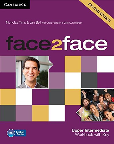 9781107609563: face2face Upper Intermediate Workbook with Key Second Edition