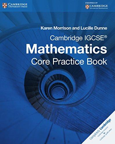 9781107609884: Cambridge IGCSE core mathematics. Practice book. Con espansione online. Per le Scuole superiori