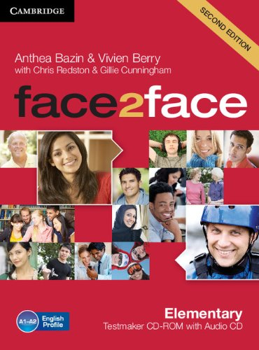 9781107609945: face2face Elementary Testmaker CD-ROM and Audio CD