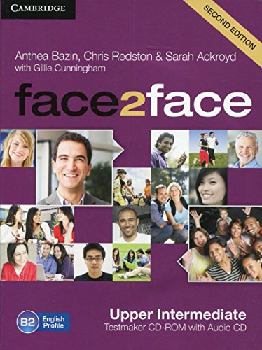 9781107609983: face2face Upper intermediate Testmaker CD-ROM and Audio CD Second Edition