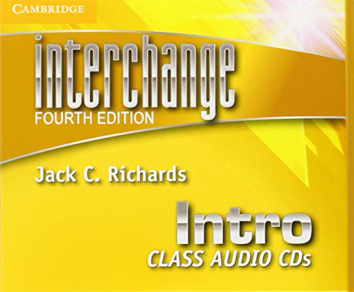 9781107610347: Interchange Intro Class Audio CDs (3) (Interchange Fourth Edition)
