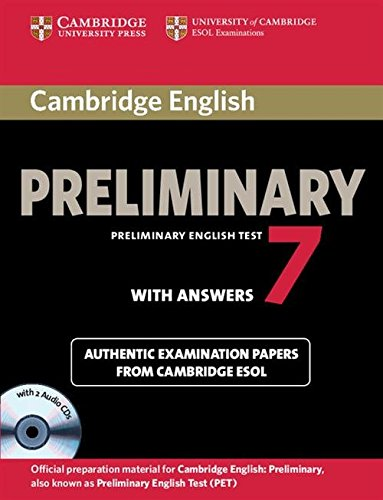 9781107610484: Cambridge English Preliminary 7 Student's Book Pack (PET Practice Tests)