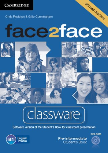 9781107610552: face2face Pre-intermediate Classware DVD-ROM