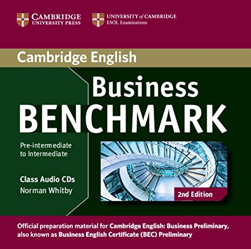 9781107611030: Business Benchmark Pre-intermediate to Intermediate Business Preliminary Class Audio CDs (2)