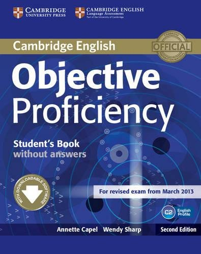 9781107611160: Objective Proficiency. Student's Book without answers with Downloadable Software