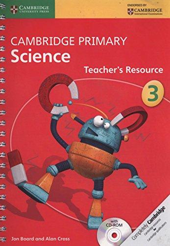 9781107611504: Cambridge Primary Science. Teacher's Resource Book Stage 3. Con CD-ROM