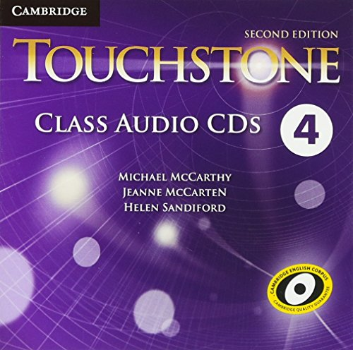 9781107612723: Touchstone Level 4 Class Audio CDs (4) Second Edition