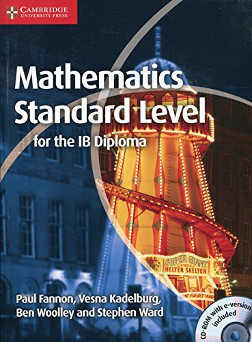 9781107613065: Mathematics for the IB Diploma Standard Level with CD-ROM