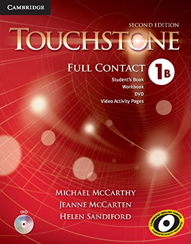 Touchstone Level 1 Full Contact B (Paperback): Jeanne McCarten