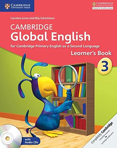 Cambridge Global English Stage 3 Learner's Book + Audio Cd